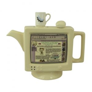 Computea Teapot by Ceramic Inspirations