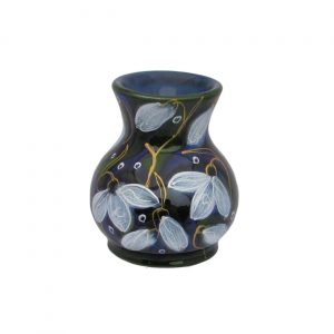 Snowdrop Design Small Vase Anita Harris Art Pottery