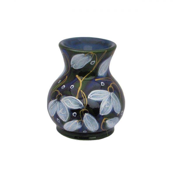 Snowdrop Design Small Vase Anita Harris Art Pottery