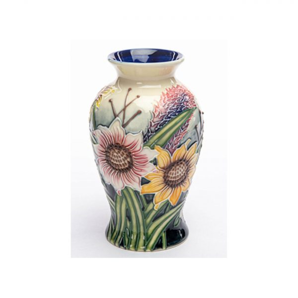 Summer Bouquet Design Six Inch Vase Old Tupton Ware