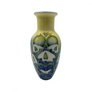 Old Tupton Ware Snowdrop 8inch Vase
