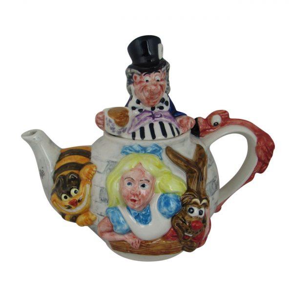 Alice in Wonderland Teapot Paul Cardew Design