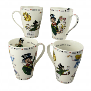 Alice Mad Hatter Mugs by Paul Cardew International
