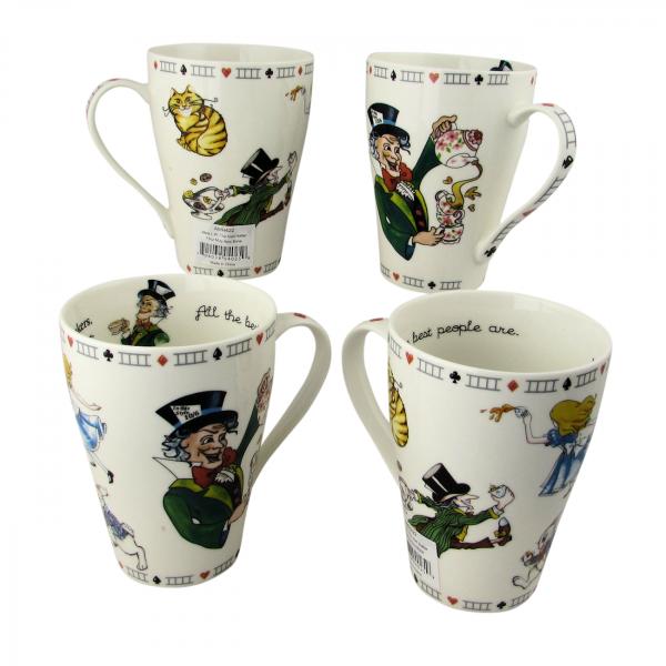 Alice Mad Hatter Mugs by Paul Cardew International