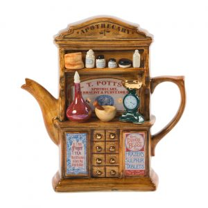 Apothecary Teapot Large Size by Ceramic Inspirations