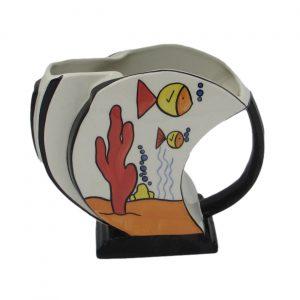Aqua Design Shell Jug Lorna Bailey Artware