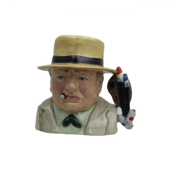 Churchill Toby Jug Artist Design Bairstow Pottery