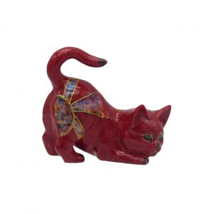 Inspirations Design Kitten Figure Anita Harris Art Pottery