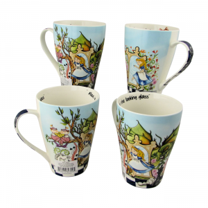 Alice Through the Looking Glass Mugs Paul Cardew