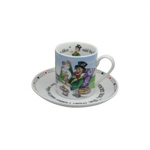 Alice Mad Hatter Cup & Saucer by Paul Cardew International