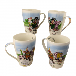 Alice Mad Hatters Tea Party Mugs Paul Cardew International