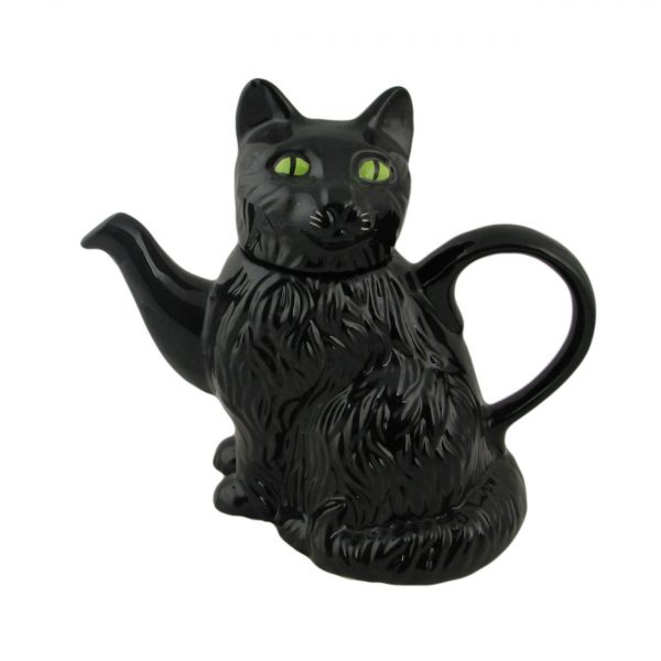 Black Cat Teapot by Carters of Suffolk