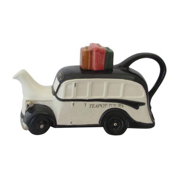 Coach Collectable Novelty Teapot Black Colour Way