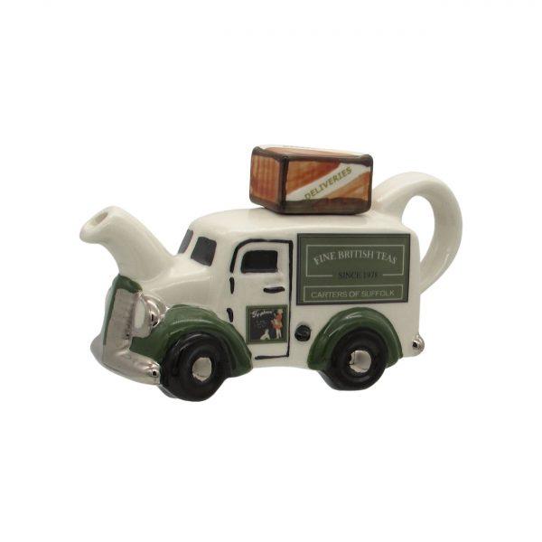 British Tea Van Teapot One Cup Carters of Suffolk