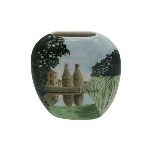 Canal Refelections Design Vase Tony Cartlidge Ceramic Designer
