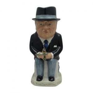 Prime Minister Winston Churchill Toby Jug Bairstow Pottery