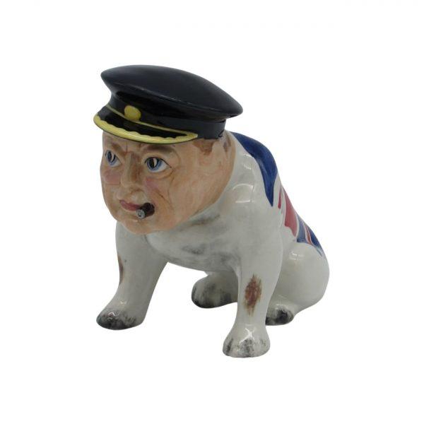 Winston Churchill Bulldog Figure Bairstow Pottery