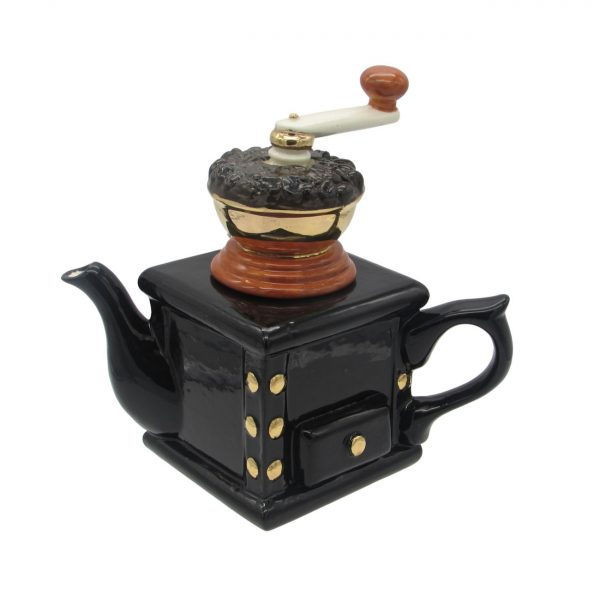 Coffee Grinder Teapot from Carters of Suffolk
