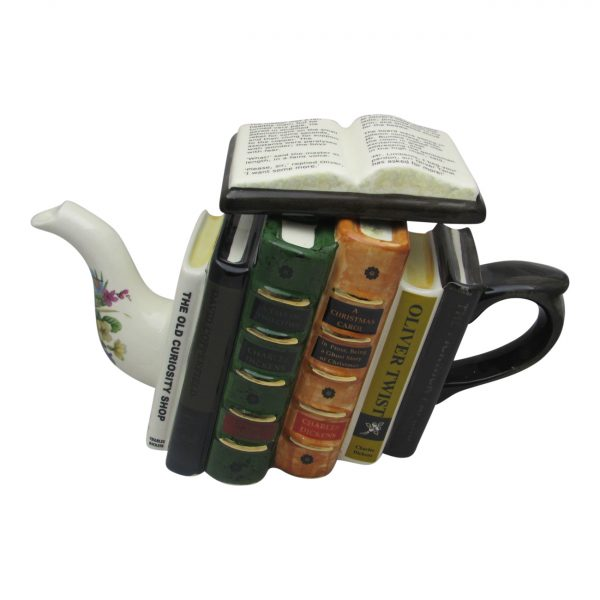 Charles Dickens Books Teapot Full Size Carters of Suffolk