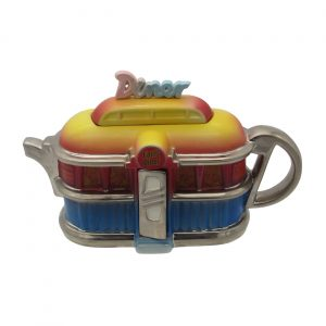 American Diner Teapot by Ceramic Inspirations