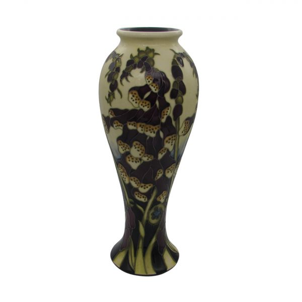 Fairies Foxglove Design Vase Moorcroft Pottery