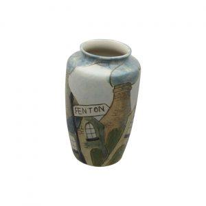 Burslem Pottery Stoneware Vase Fenton Design