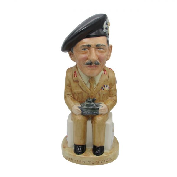 Field Marshall Montgomery Toby Jug Bairstow Pottery