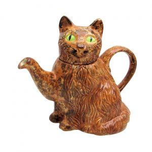 Ginger Cat Teapot by Carters of Suffolk