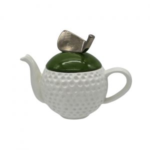 Golf Ball Teapot Made by Carters of Suffolk