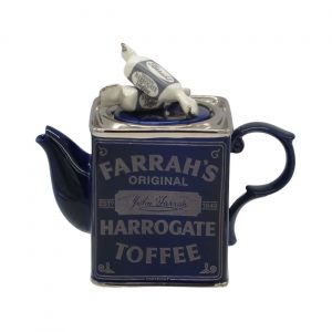 Harrogate Toffee Tin Teapot Ceramic Inspirations