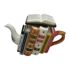 Jane Austen Books Teapot by Carters of Suffolk