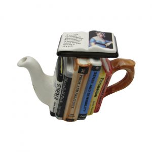 Jane Austen One Cup Teapot Carters of Suffolk