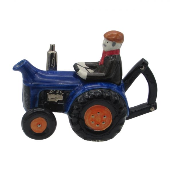 Farm Tractor Teapot Blue Colourway Carters of Suffolk