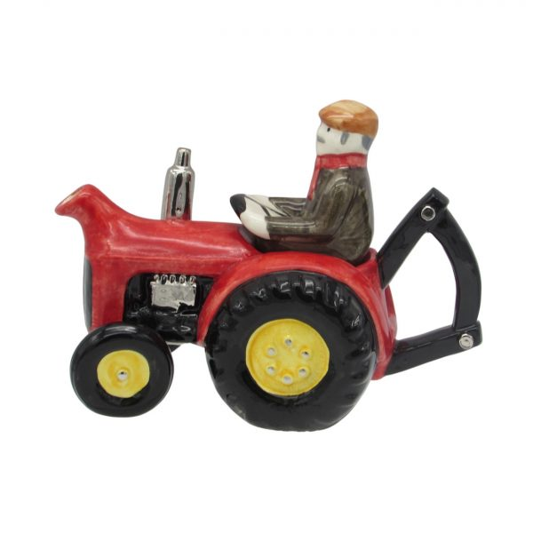Farm Tractor Teapot Red Full Size Carters of Suffolk