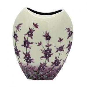 Lavender Design 30cm Vase Old Tupton Ware