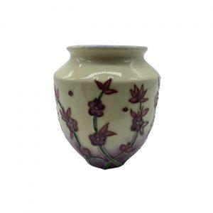 Lavender Design 10cm Vase Old Tupton Ware