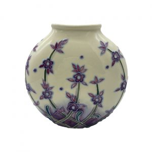 Lavender Design 15cm Vase Old Tupton Ware