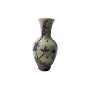 Lavender Design 4inch Vase Old Tupton Ware