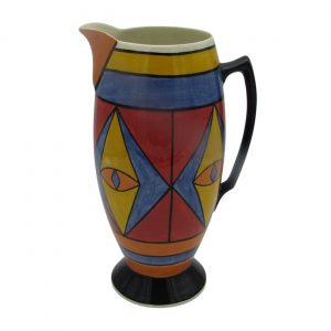 Egyptian Design Jug 30cm Tall by Lorna Bailey Artware