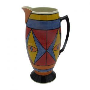 Egyptian Design Jug 30cm Tall by Lorna Bailey Artware