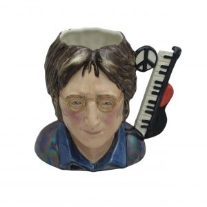 John Lennon Toby Jug Red Colourway Bairstow Pottery