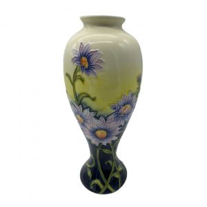 Lilac Daisy 11inch Vase Old Tupton Ware