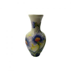 Lilac Daisy 4inch Vase Old Tupton Ware
