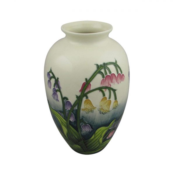 Lily of Valley Flower Design Vase Old Tupton Ware