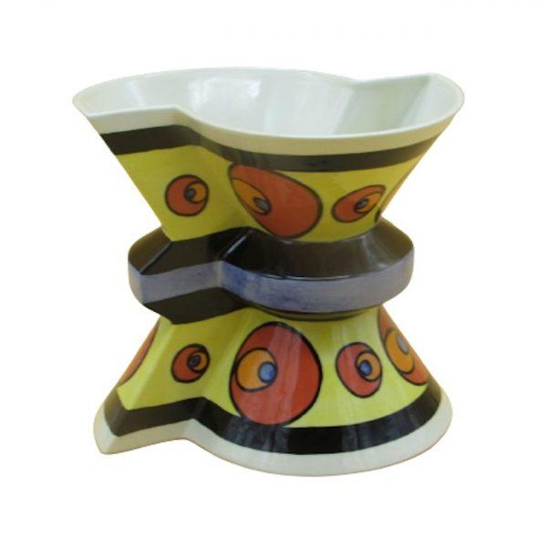 Back to Back Design Vase