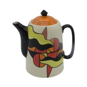 Mirage Design Coffee Pot by Lorna Bailey Artware