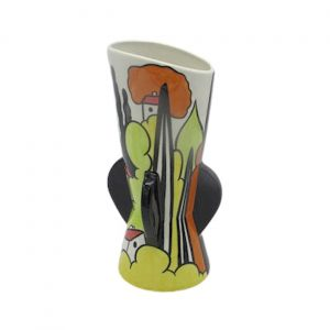Porthill Bank Design Vase Lorna Bailey Artware