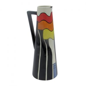 Stoke-on-Trent Design Cone Jug Lorna Bailey Artware