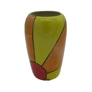 Sunburst Design Tall Vase Lorna Bailey Artware