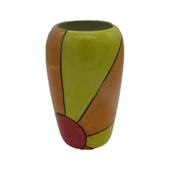 Sunburst Design Tall Vase Lorna Bailey Artware